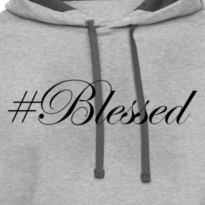 #Blessed T-Shirts - Contrast Hoodie
