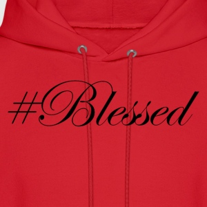 #Blessed Kids' Shirts - Men's Hoodie