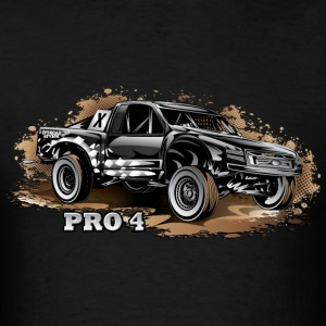 Pro4 Trophy Truck Black Hoodies - Men's T-Shirt