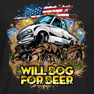 Mud Truck Bog 4 Beer Hoodies - Men's Premium Long Sleeve T-Shirt
