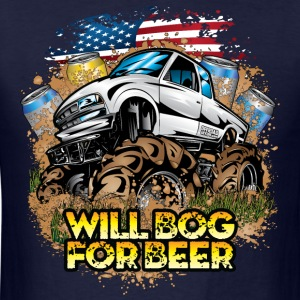 Mud Truck Bog 4 Beer Hoodies - Men's T-Shirt