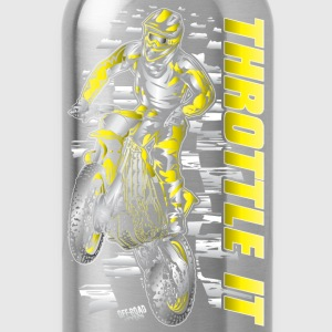 Motocross Throttle It Suzuki Baby & Toddler Shirts - Water Bottle
