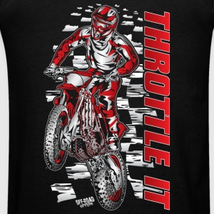 Motocross Throttle It Honda Sweatshirts - Men's T-Shirt