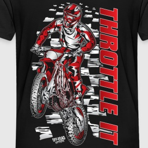 Motocross Throttle It Honda Sweatshirts - Toddler Premium T-Shirt