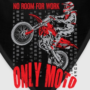 Dirt Bike Only Moto Honda T-Shirts - Bandana