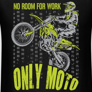 Motocross Only Moto Kawasaki Long Sleeve Shirts - Men's T-Shirt