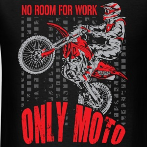 Dirt Bike Only Moto Honda Long Sleeve Shirts - Men's T-Shirt