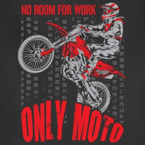 Dirt Bike Only Moto Honda T-Shirts - Adjustable Apron