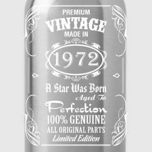 Premium Vintage Made In 1972..... Women's T-Shirts - Water Bottle