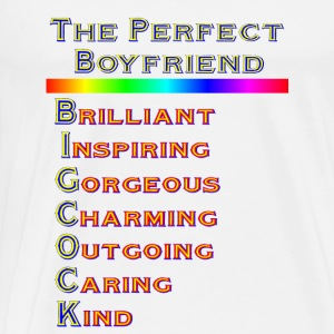 THE PERFECT BOYFRIEND - Men's Premium T-Shirt