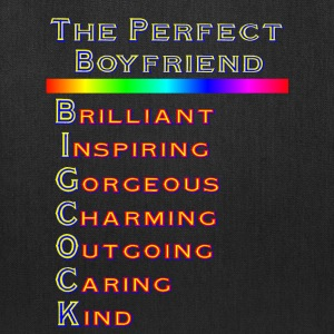 THE PERFECT BOYFRIEND - Tote Bag