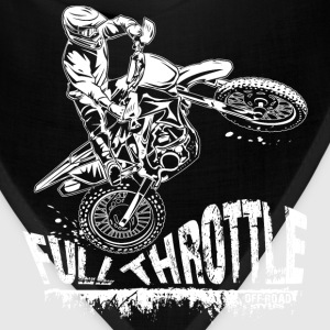 Dirt Biker Full Throttle Hoodies - Bandana