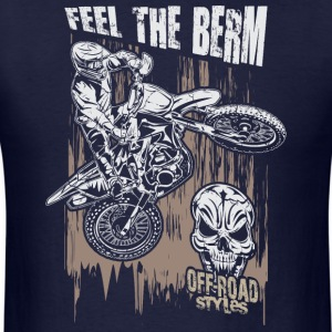 Motocross Feel The Berm Hoodies - Men's T-Shirt