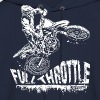 Dirt Biker Full Throttle Hoodies - Men's Hoodie