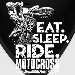 Dirt Bike Eat Sleep Ride T-Shirts - Bandana
