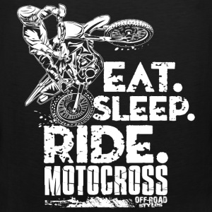 Dirt Bike Eat Sleep Ride Baby & Toddler Shirts - Men's Premium Tank