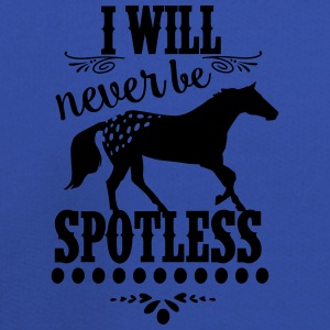 I will never be spotless -Appaloosa Horse Bags & backpacks - Kids' Premium Hoodie