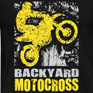 Backyard Motocross Suzuki Long Sleeve Shirts - Men's Premium T-Shirt