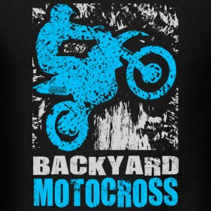 Backyard Motocross Yamaha Long Sleeve Shirts - Men's T-Shirt