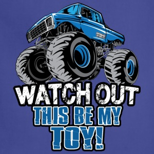 Monster Truck Toy T-Shirts - Adjustable Apron