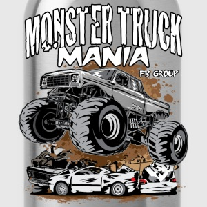 Monster Truck Mania Group Kids' Shirts - Water Bottle
