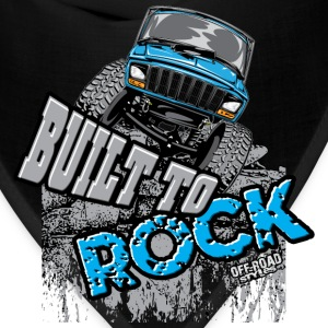 jeep-crawler-rock-built-b T-Shirts - Bandana