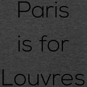 Paris is for Lovers - Men's V-Neck T-Shirt by Canvas