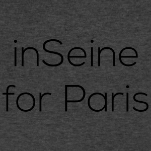 Insane for Paris - Men's V-Neck T-Shirt by Canvas