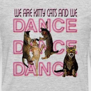 We Are Kitty Cats and we Dance - Men's Premium Long Sleeve T-Shirt