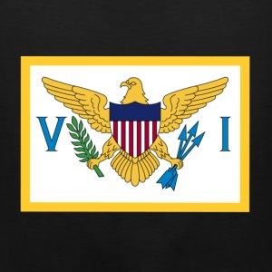 United States Virgin Islands T-Shirts - Men's Premium Tank