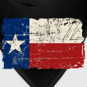 Texas Flag - Vintage Look Women's T-Shirts - Bandana
