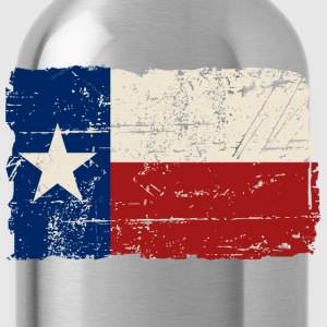 Texas Flag - Vintage Look Women's T-Shirts - Water Bottle