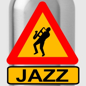 Jazz Caution T-Shirts - Water Bottle