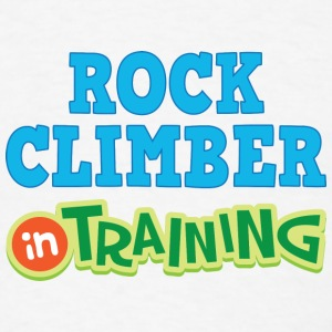 Rock Climber In Training Baby & Toddler Shirts - Men's T-Shirt