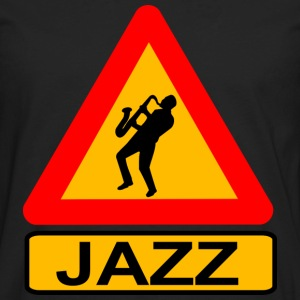 Jazz Caution T-Shirts - Men's Premium Long Sleeve T-Shirt