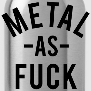 Metal As Fuck T-Shirts - Water Bottle