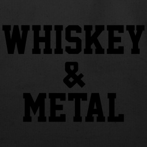 Whiskey & Metal T-Shirts - Eco-Friendly Cotton Tote