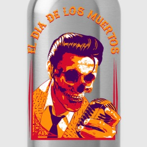 Halloween Elvis Dead | | El Dia de los Muertos Women's T-Shirts - Water Bottle