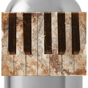Piano Ivories -Piano Keys T-Shirts - Water Bottle