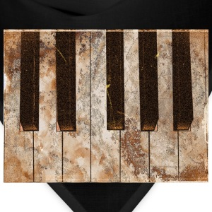 Piano Ivories -Piano Keys T-Shirts - Bandana