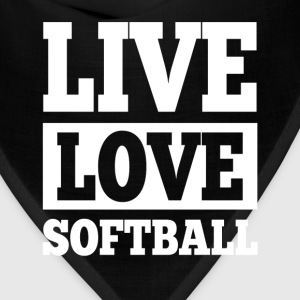 Live Love Softball T-Shirts - Bandana