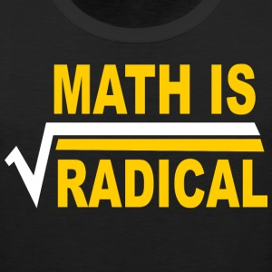 Math Is Radical - Men's Premium Tank