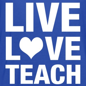 live love teach T-Shirts - Women's Flowy Tank Top by Bella
