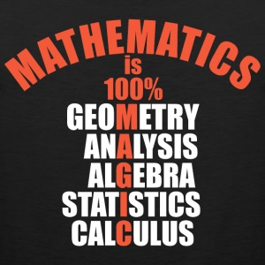 Mathematics Is 100 Percent Magic - Men's Premium Tank