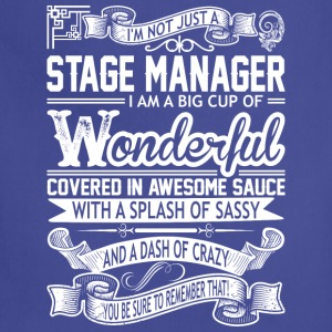 Stage Manager Wonderful Big Cup Of Sassy - Adjustable Apron