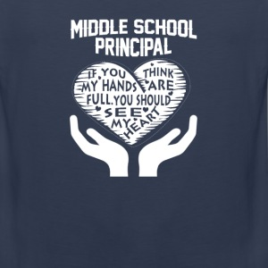 Middle School Principal - Men's Premium Tank