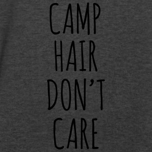 Camp Hair Don't Care - Men's V-Neck T-Shirt by Canvas