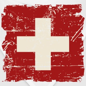 Swiss Flag - Vintage Look Hoodies - Bandana