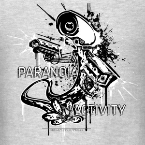 Paranoia Activity Tanks - Men's T-Shirt