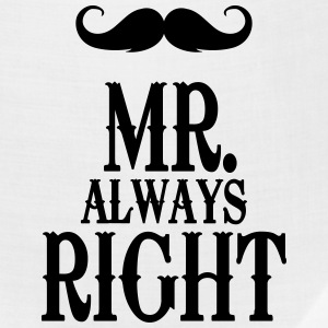 Mr. always Right T-Shirts - Bandana